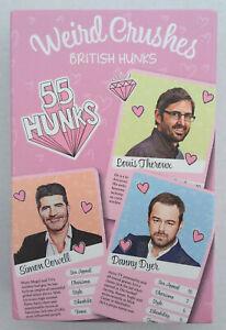 Weird Crushes, British Hunks, Card Game - New!