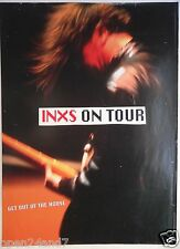 "Inxs ""Get Out Of The House Tour"" U.S. Promo Poster From 1993 - Guitarist Playing"
