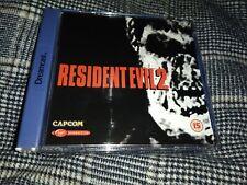 RESIDENT EVIL 2 Dreamcast Pal ( gdroms like new)