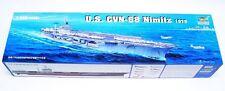 Trumpeter 1:350 USS Nimitz CVN68 Aircraft Carrier Plastic Model Kit TSM5605