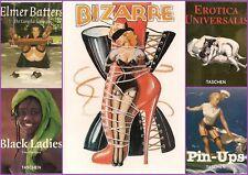 Erotik Taschenbücher 5 Stück - Bildband - 1996, neuwertig !