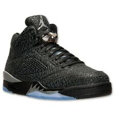 Nike Air Jordan V 5 3LAB5 BLACK METALLIC SILVER Size 14 New In Box
