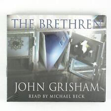 JOHN GRISHAM The Brethren 6CD BOX SET (ABRIDGED) 2000 (SEALED/UNPLAYED)