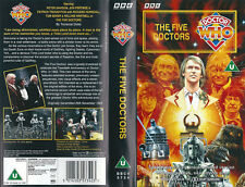 The Five Doctors and The King's Demons (Limited Edition VHS Box Set)