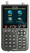 SATLINK WS 6909 Combo DVB-S DVB-T TFT 8,9cm Messgerät Satfinder