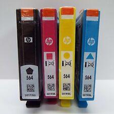 GENUINE HP 564 INK CARTRIDGE BLACK COLOR - 4 PACK - BULK (LOOK DESC.) B3000