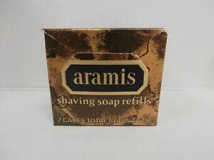The Art of Shaving Aramis Classic Shaving Soap Refill Discontinued 2 cakes Rare