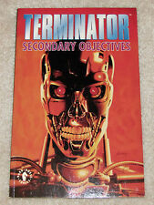 The Terminator Secondary Objectives TPB Dark Horse Comics 1 2 3 4 Complete Run