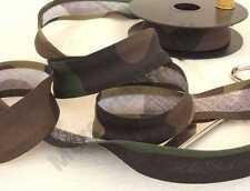 2 metri nastro sbieco cotone camouflage mimetico 2,5cm riparare softair