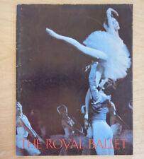 8 vintage ballet programs Royal Ballet, Moiseyev, Sadler's, Royal Danish Inv2367