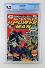 Power Man #33 - CGC 9.2 NM- Marvel 1976 - 30 Cent Price Variant! 1st App Spear!