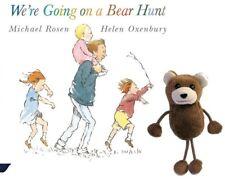 We're Going On A Bear Hunt Finger Puppet Book Story Set Teaching EYFS KS1