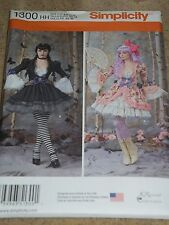 Simplicity 1300 Adult Misses Size 6-12 Costume Pattern
