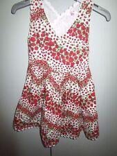 Girls Size 1 Pumpkin Patch X-back Floral Dress 12-18mths