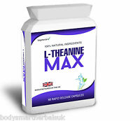 L-Theanine 200mg Capsules 98% L-Theanine Max from Green Tea 90 Capsules
