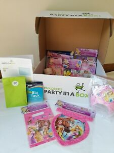Disney Princess Party Supplies Party in a Box. Banners Balloons Cups Plates