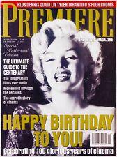 Marilyn Monroe Julie Christie Meryl Streep Clara Bow Tom Cruise PREMIER MAGAZINE