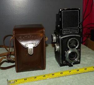 Rolleicord TLR Camera & Schneider Kreuznach 75mm/f1:3.5 Xenar Lens & Case