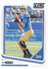 2018 Score Football Josh Rosen UCLA Bruins Rookie Card #348