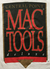 Vintage MacTools Deluxe Tshirt, size XL, new unused, Central Point Software