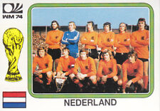 Panini - World Cup Story - West Germany 1974 - Team Photo - Holland - # 84