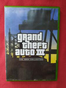 GTA III 3 en boite PAL FR Xbox Grand Theft Auto gpm40