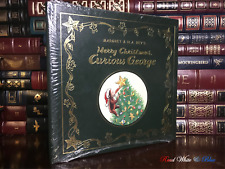 Easton Press Merry Xmas Curious George by Margret & H.A. Rey Sealed Leather Gift