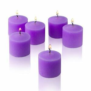 Indian Candles Wax Votive Candles Home Décor  Set of 12 Assorted