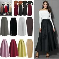 Muslim Women Thick Skirt Bodycon Slim High Waist Stretch Long Maxi Pencil Skirt