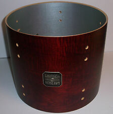 Gretsch USA Custom Drum Shell 6 Ply Tom 10x12 Broadkaster Satin Walnut
