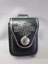 ZIPPO Genuine Leather Briquet Pouch - Harley Davidson - NEUF - 010479