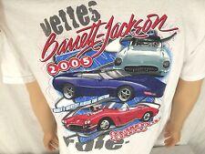 2005 Barrett Jackson Corvette Auction T-shirt White Large Scottsdale Arizona
