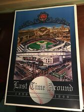 "Tiger Stadium Last Time Around Poster 1896 1999 18"" X 12"" Detroit Tiger History"