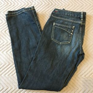 Ladies Diesel Kycut Blue Jeans Size W27 L32 Wash 0086F Straight Leg Women's