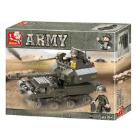 Sluban Army tank m38 B0282 178 PCS building bricks game