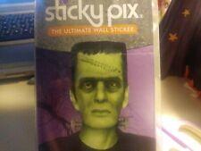 FRANKENSTEIN, Sticky Pix Halloween Wall Decor Sticker Decal Glow in Dark