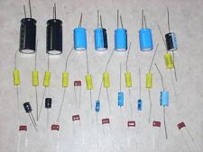 Rockola Jukebox Stereo Amp Rebuild Cap Capacitor Kit 1488 1495 1496 1497 1498