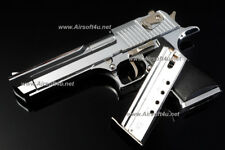 Blackcat Mini Model Gun - Desert Eagle (Shell Eject, Silver) For Display Only