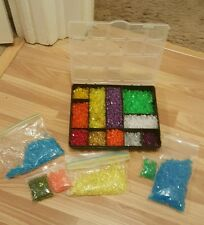 Jewelry making supply, beads, multi colored FREE SHIPPING