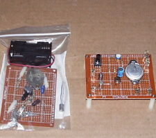 LO-COST transistor OTL audio radio amplifier unbuilt Science Fair electronic kit