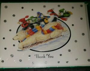 Designer Collection Thank You Note Cards New In Package 10 Cards & Envelopes