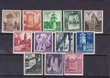 1940 Generalgouvernement Bauwerke 1940 Postfrisch ** MNH Prachtsatz