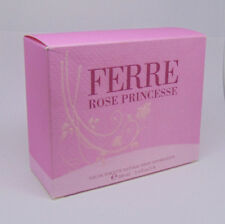 GIANFRANCO FERRE ROSE PRINCESSE Woman Eau de Toilette Spray 100ml/3.4Fl.oz NIB