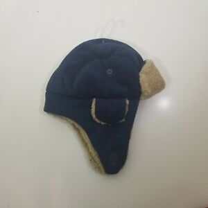 Baby GAP Trapper Hat Blue Medium Large Tags