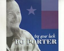 CD BO PORTER	try your luck	MINT (B3072)