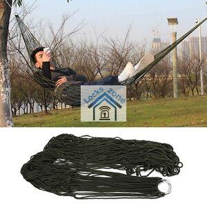 Strong Hammock Garden Mesh Net Hang Rope Travel Camp Outdoor Swing Good Quality