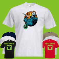 Michael Myers Halloween Horror Movie T Shirts Tee Men's T-SHIRT tshirt DLO