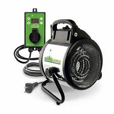 Bio Green PAL 2.0/USDT Palma Greenhouse Heater w/ Digital Thermostat, 120 Sq Ft