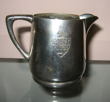 Silver Plate Pitcher Benedict Proctor Canada Cardy Directed Hotels Creamer