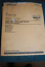 Caterpillar Parts Manual 1999 D7R LGP Track Type Tractors Differential Steering
